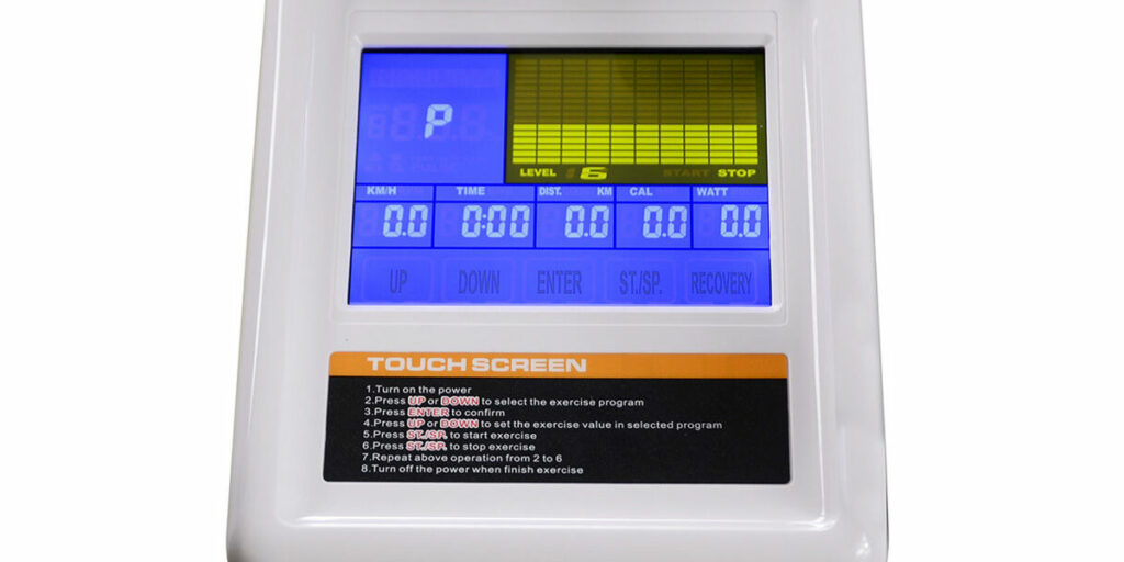 Big Colour-Touch Screen Console