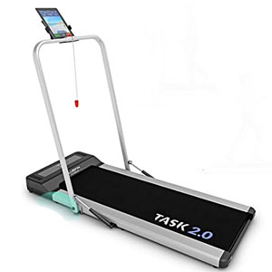 Bluefin Fitness TASK 2.0 2-in-1 Folding Under Desk Treadmill