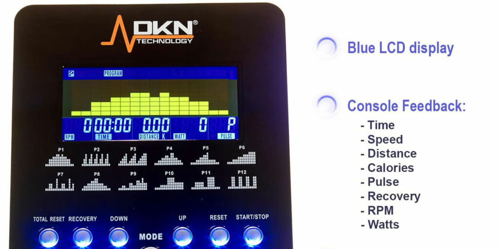 DKN-AM-E-Exercise-Bike-Console
