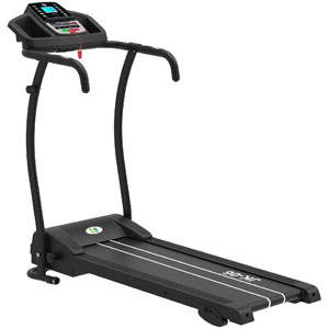 Fit4home Electric Treadmill Folding Running Strolling Machine Black JK06
