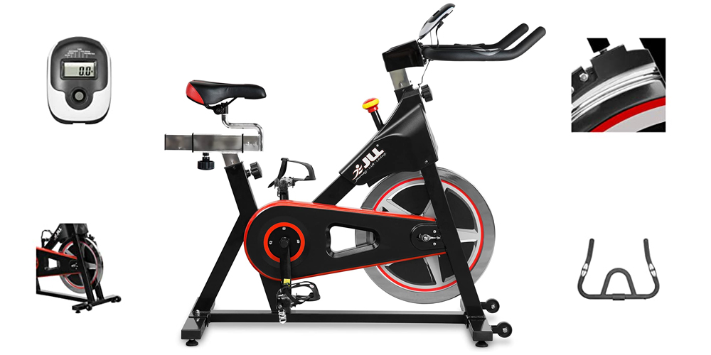 JLL IC300 Indoor Cycling Exercise Bike Product Overview